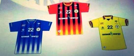 Not the final Sarawak 2014 jersey?
